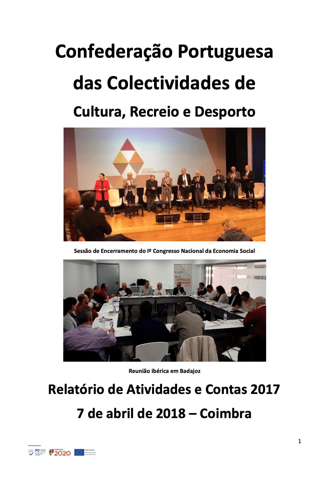 relatorio e contas 2017